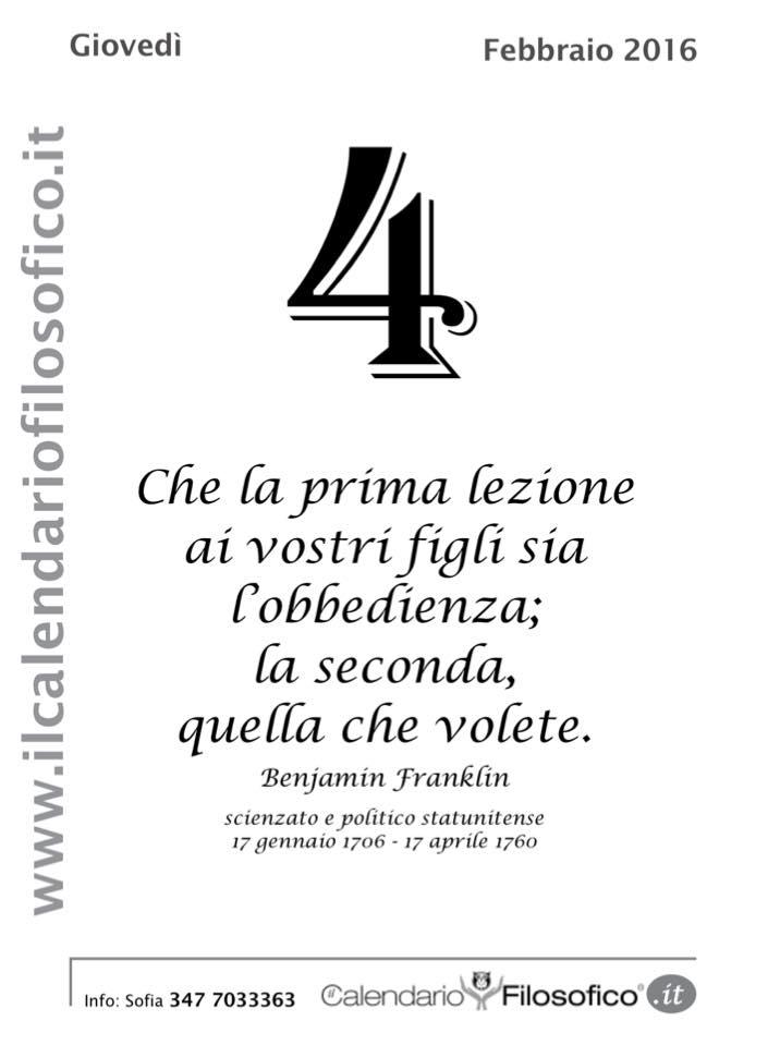 "Amato Pensieri, Frasi celebri e non dal ""Calendario Filosofico"" - LIPARINET OR25"