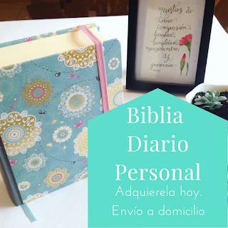 Biblia Diario Personal en Guatemala. Biblia de Estudio personal y Bible Journaling. Adquierela hoy mismo.