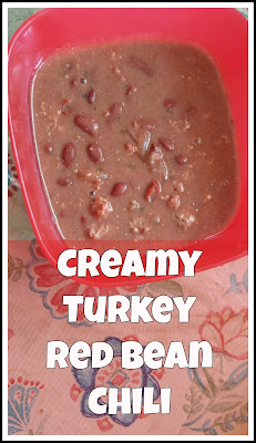 Creamy Turkey Red Bean Chili