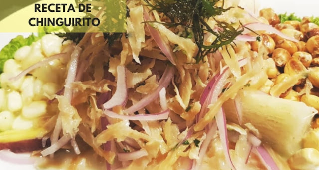 Chinguirito receta