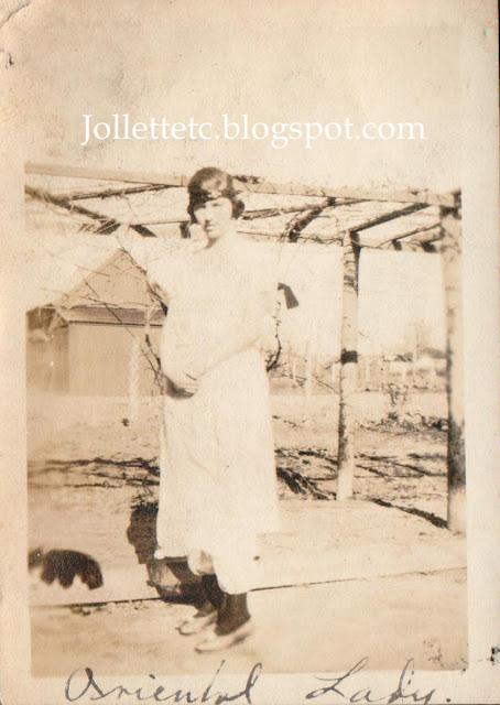 """Helen Killeen Parker """"Oriental Lady"""" about 1920 http://jollettetc.blogspot.com"""