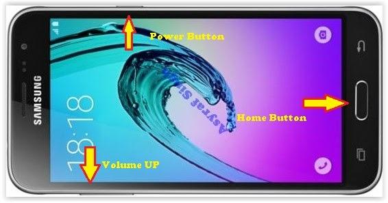Hard Reset Samsung Galaxy J3 2016 To Restore Factory -1960