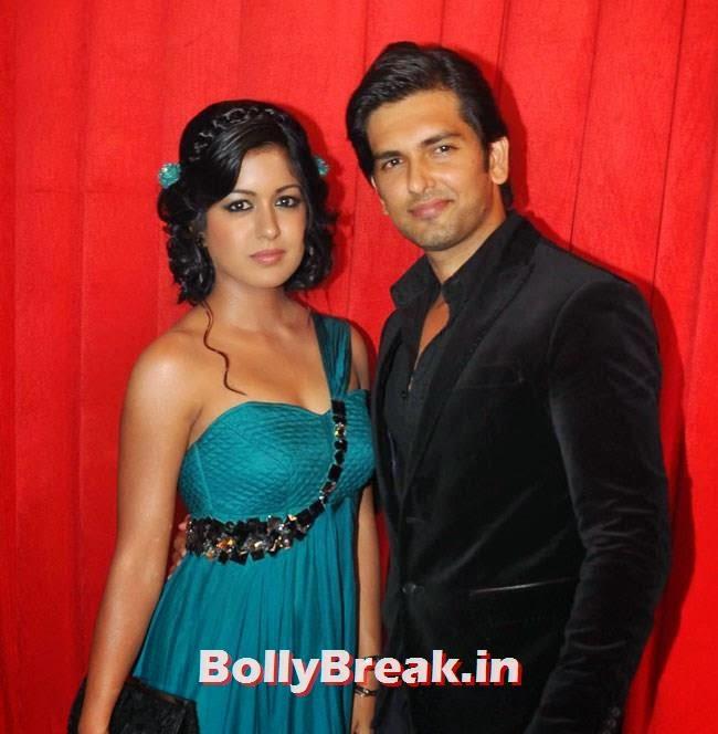 Ishita Dutta and Akash Garg, Star Parivaar Awards 2014 Red Carpet Pics