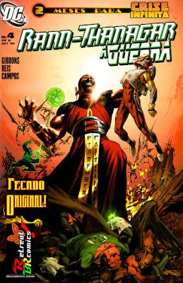 Guerra entre Rann e Thanagar #4