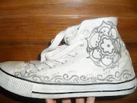 decorare scarpe fai da te