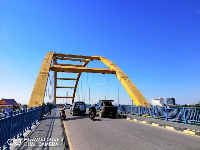 Jembatan Sungai Siak Pekanbaru