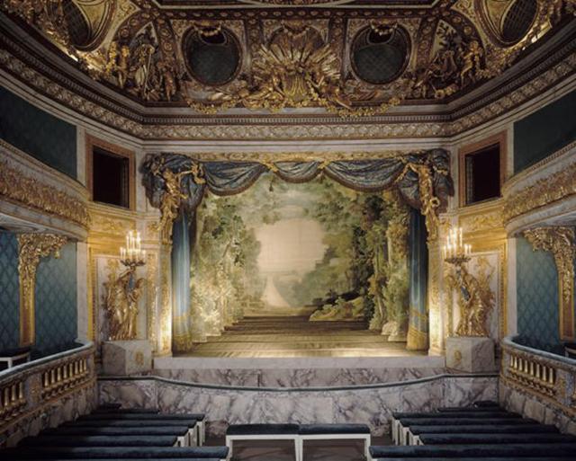 O Teatro da Rainha - Versailles