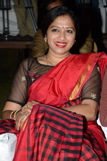 Anitha Chowdary Stills in Saree at Premikudu Movie Audio Launch ~ Bollywood and South Indian Cinema Actress Exclusive Picture Galleries