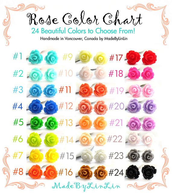 Rose Color Meanings Chart Rebellions