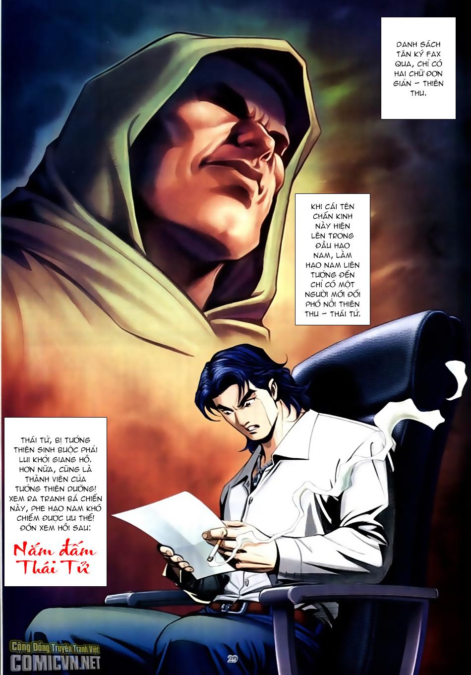 Người Trong Giang Hồ chapter 587: thiên thu và thái tử trang 28