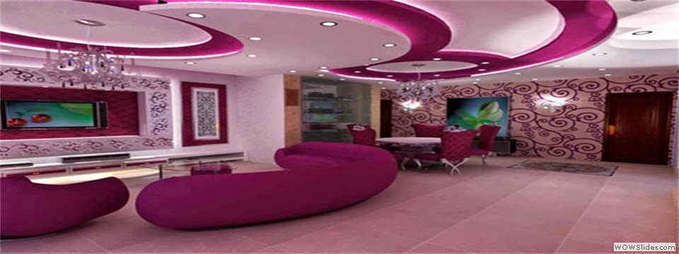 Modern Pop Art Style Apartment: 10 Modern POP False Ceiling Designs For Living Room