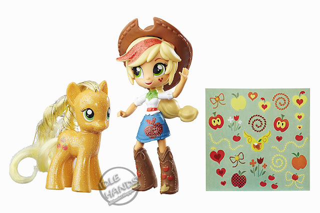 San Diego Comic-Con 2016 Toys R Us Exclusive My Little Pony Elements of Friendship Applejack Pony and Doll Set from Hasbro
