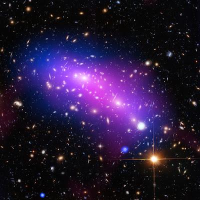 Hubble looks into a cosmic kaleidoscope
