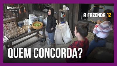 A Fazenda 12 – Mirella e sua filosofia matinal – Ansiosas para o ao vivo – Carol tem dificuldades