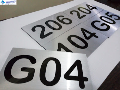 Acrylic Signs - Room Numbers