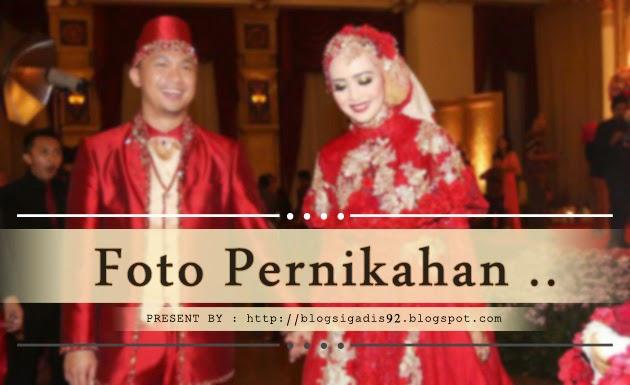 Foto Nuri Maulida Jatuh Cantik di Pelaminan Pada Saat Pernikahan