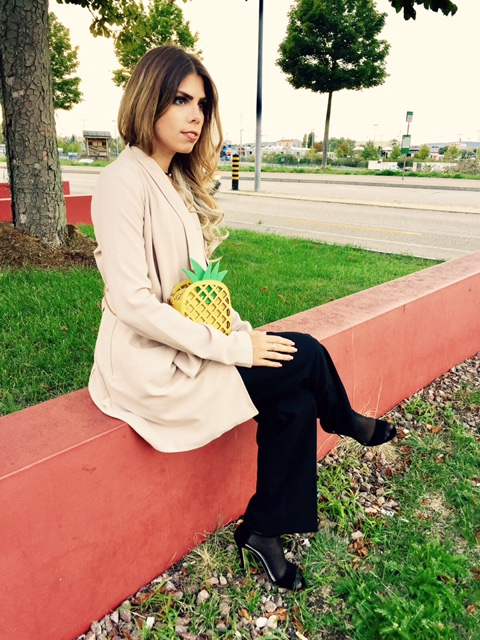 Ananas-Tasche