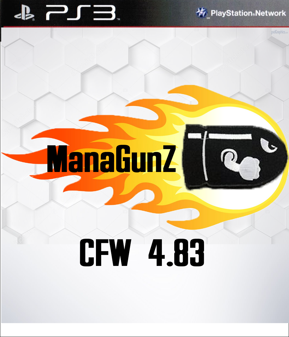 ManaGunZ v1 34 for PS3 CFW 4 83 Ps4 Exploit Hack, Apps, PS3 CFW