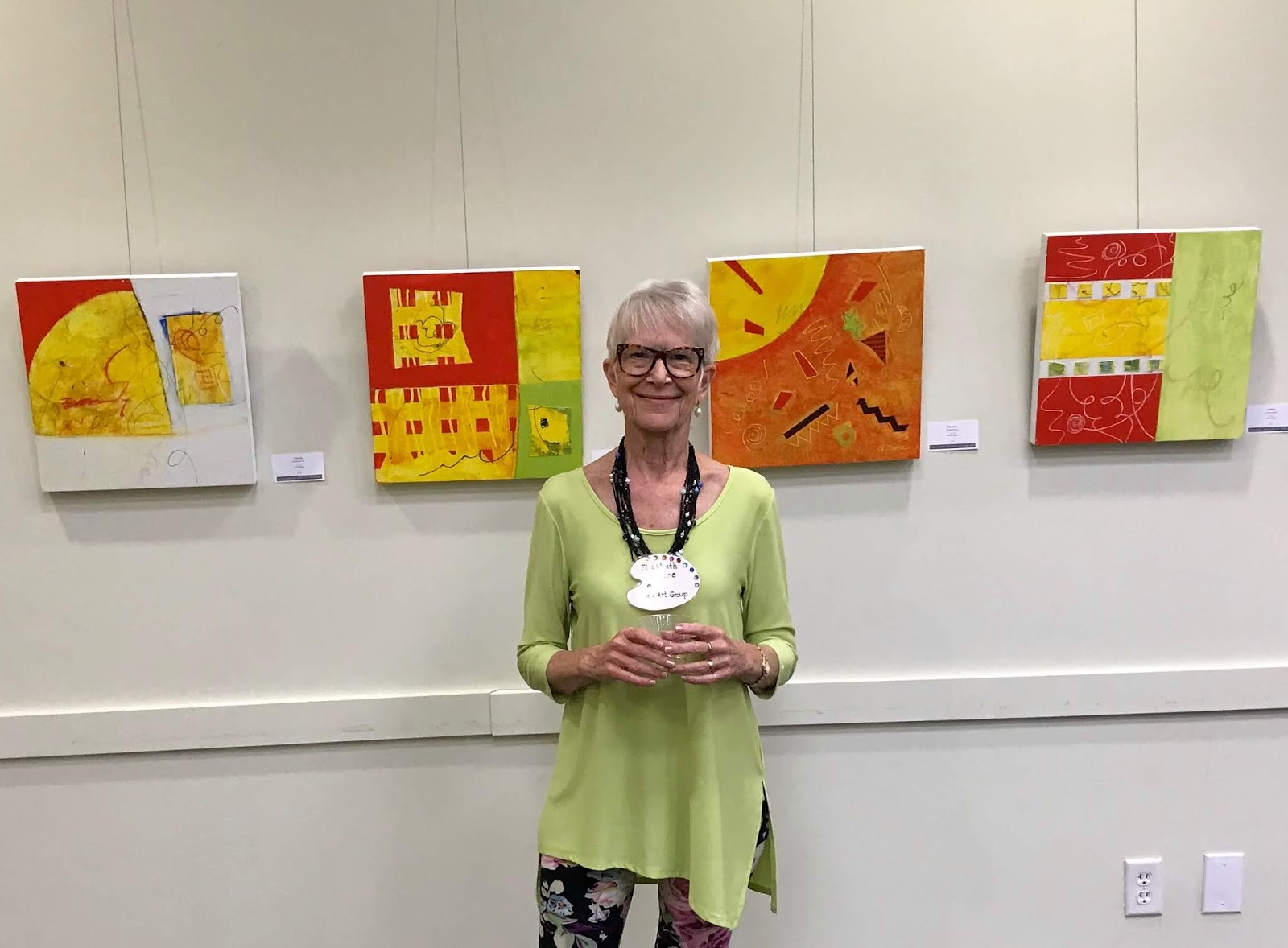 Avoca artist comes home for exhibition launch the