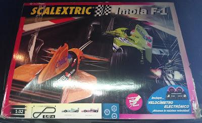 Circuitos: Scalextric Imola F-1 Tecnitoys