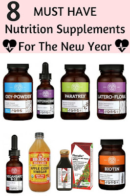 8 Must Have Nutrition Supplements for The New Year