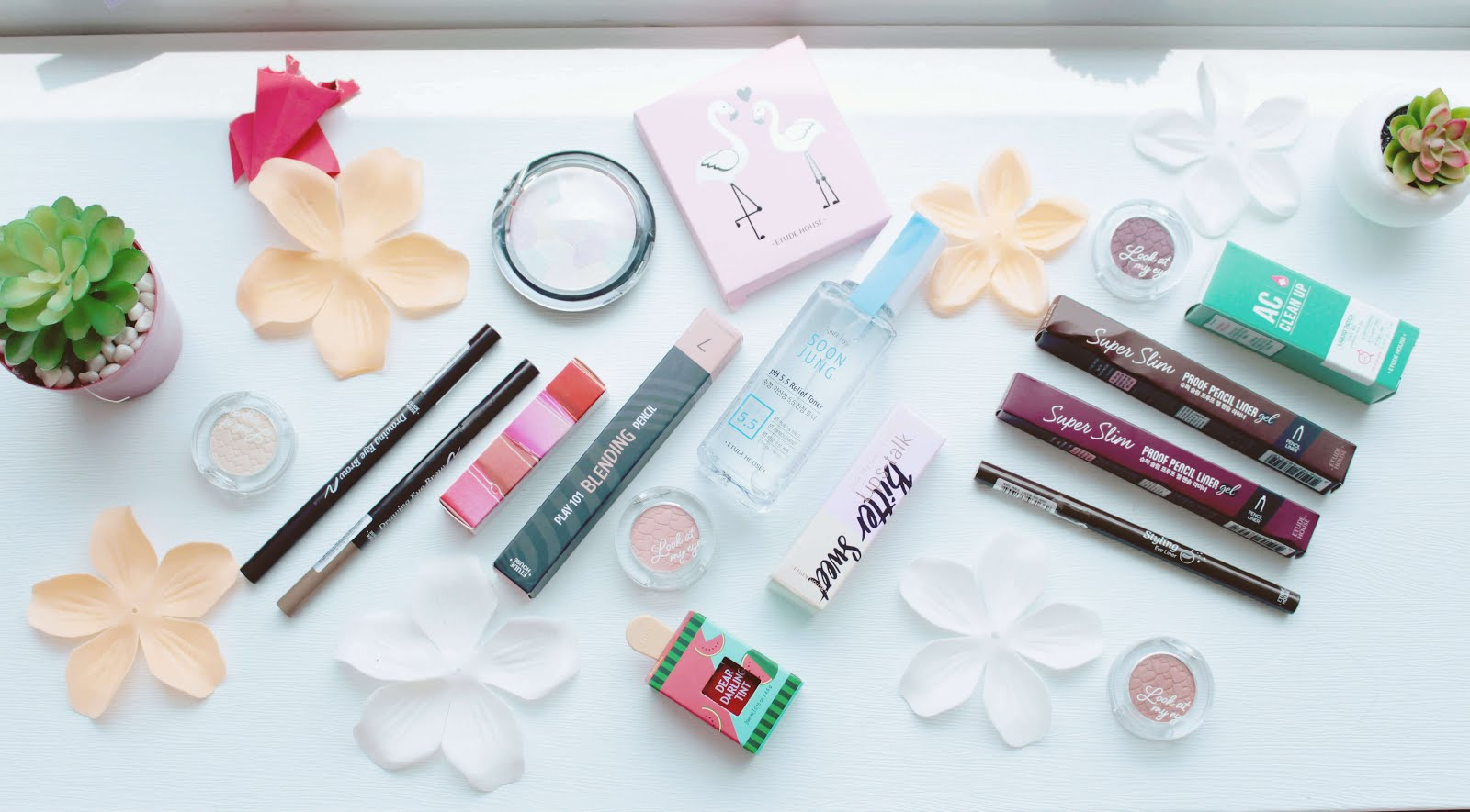 etude house one brand korean makeup haul kbeauty kcosmetics