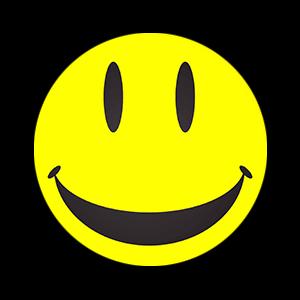 Happy smile yellow smiley