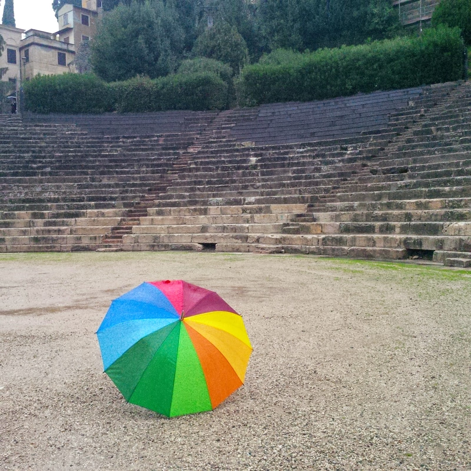 My favourite place in Verona - the Roman Theatre