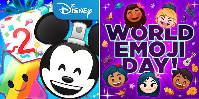 Disney Emoji Blitz 2 year Anniversary