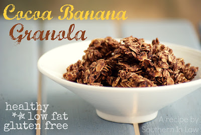 Cocoa Banana Granola Recipe