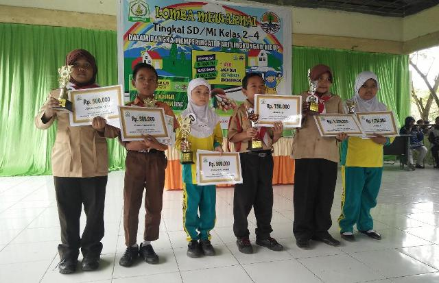 Dinas Lingkungan Hidup Aceh Tamiang Gelar Lomba Mewarnai Lentera24 Com
