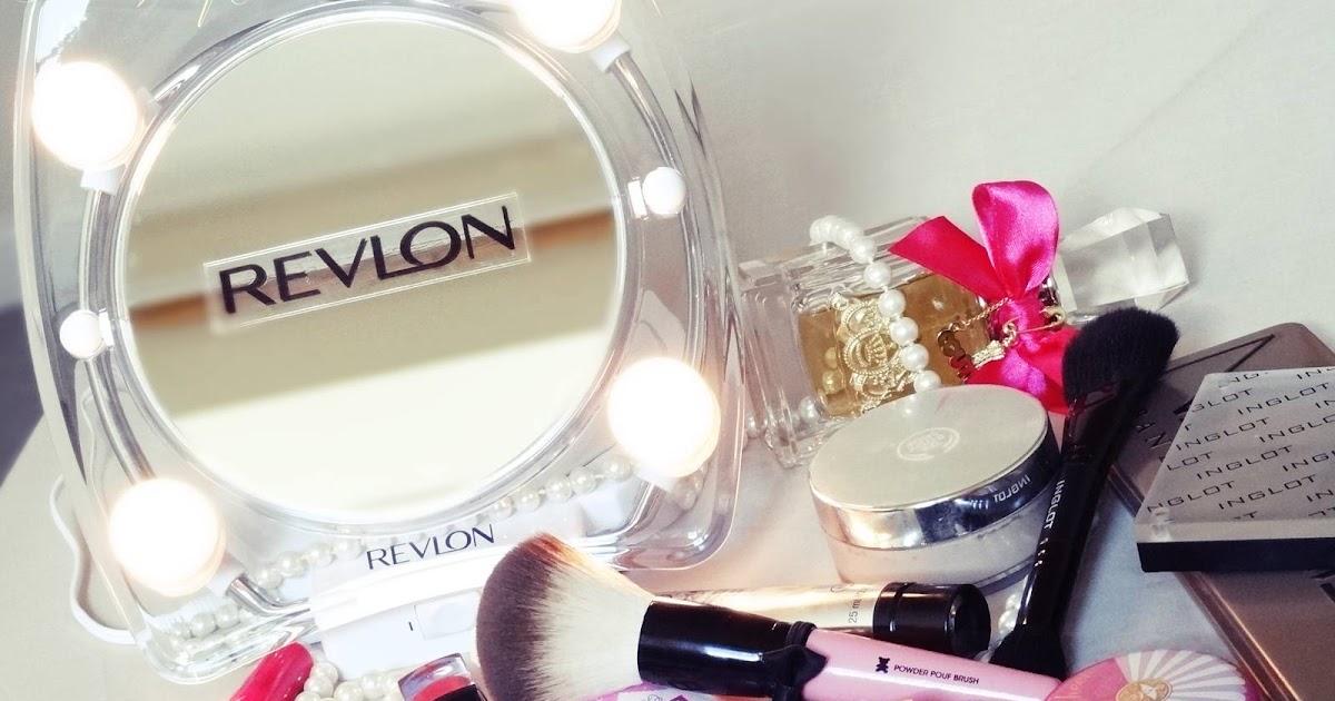 Indian Vanity Case Revlon Hollywood Lighted Make Up