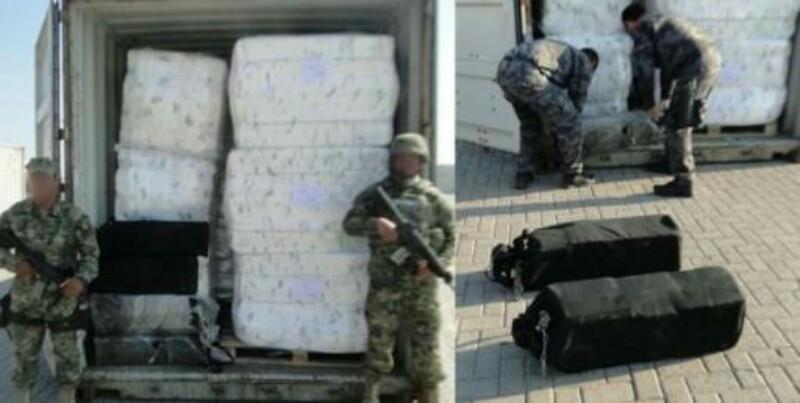Decomisan cargamento de cocaína con calor de 33 mdp en Lázaro Cardenas