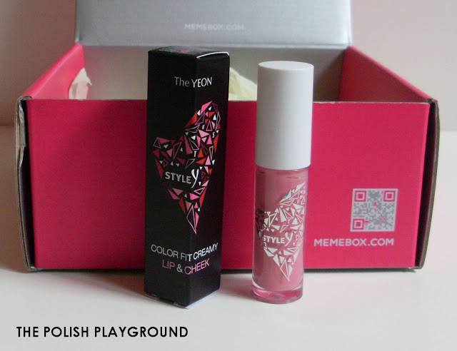 Memebox Special #43 K-Style 3 Unboxing - Style Y Color Fit Creamy Lip & Cheek in 02 Smoothie Pink