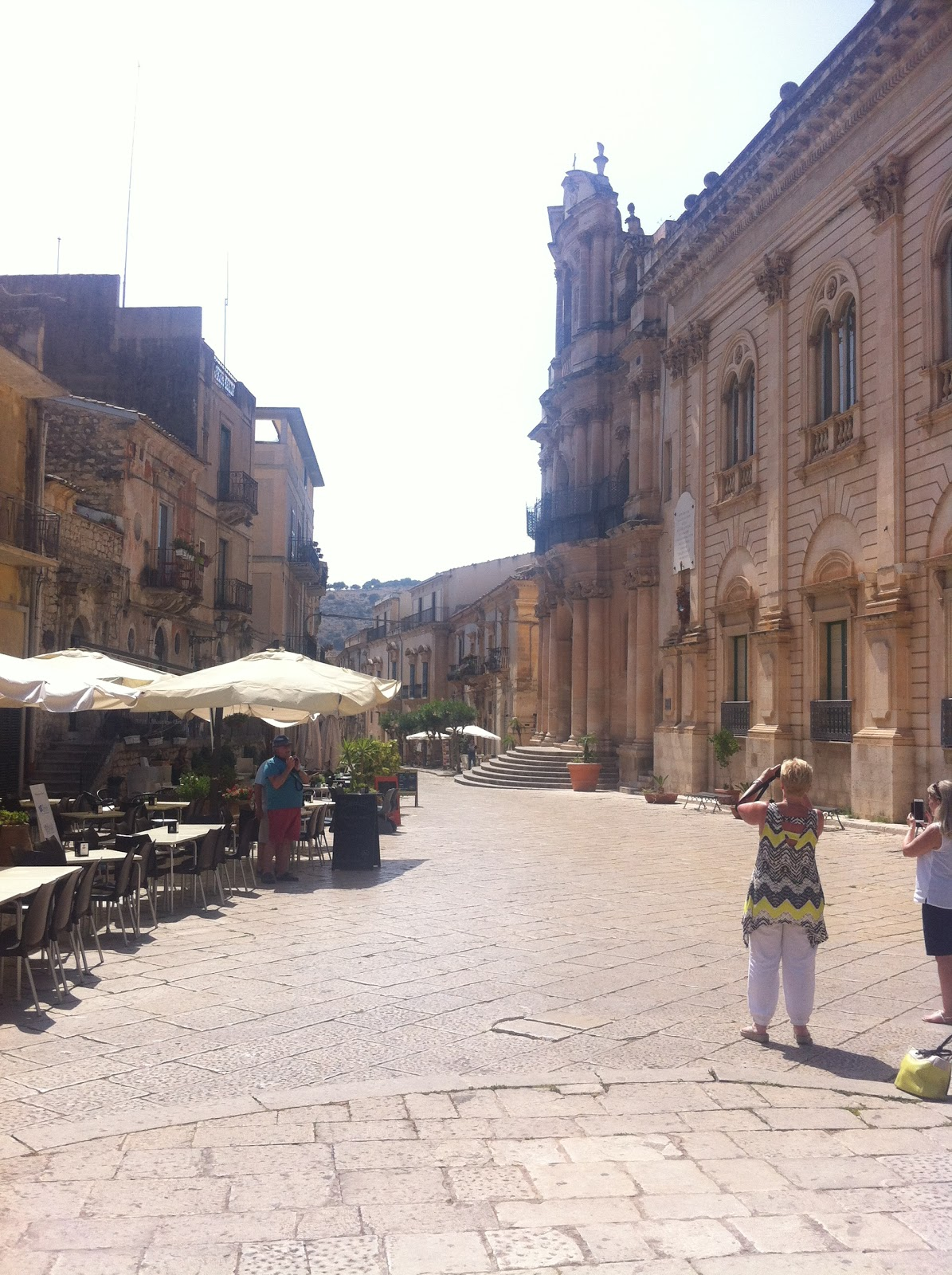 The Montalbano Filming...