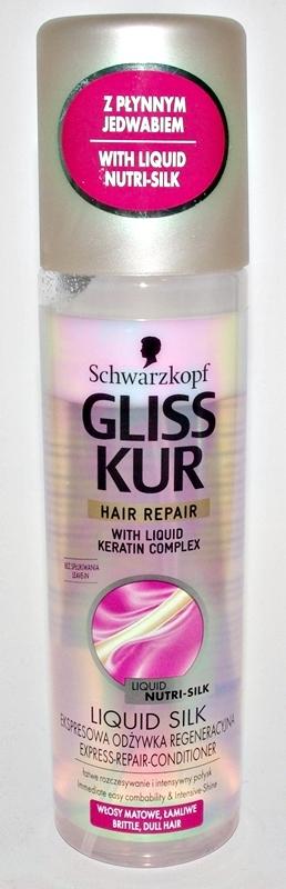 Schwarzkopf Gliss Kur odżywka w sprayu z jedwabiem