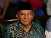 Amien Rais Sebut DPR Perlu Ambil Langkah Konstitusional jika KPK Salah