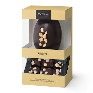 hotel chocolat ginger dark chocolate egg