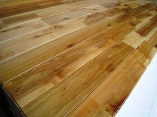 Sàn gỗ cao su - solid