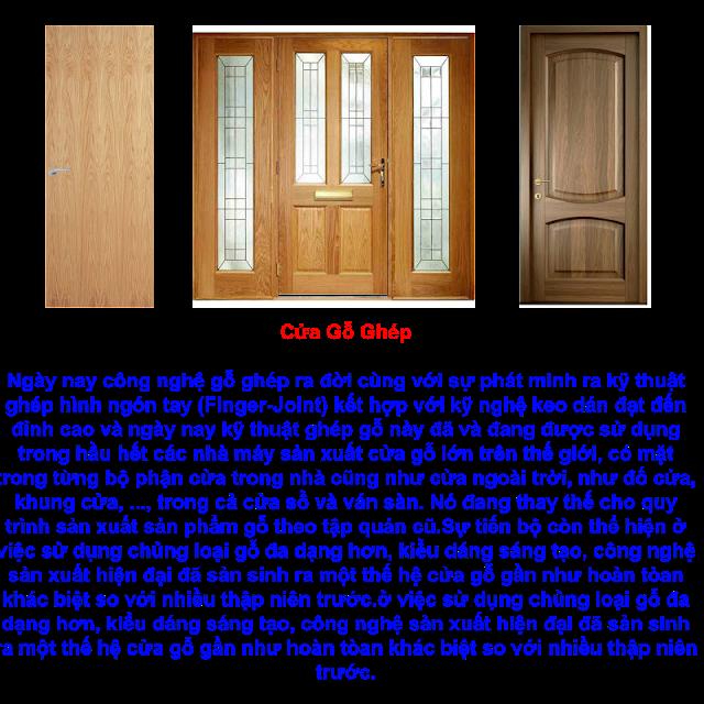 cửa gỗ ghép