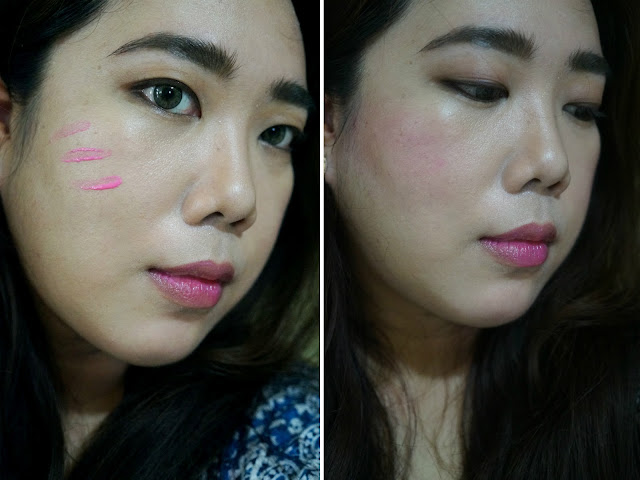 Posietint Poppy-pink Tinted Lip and Cheek Stain