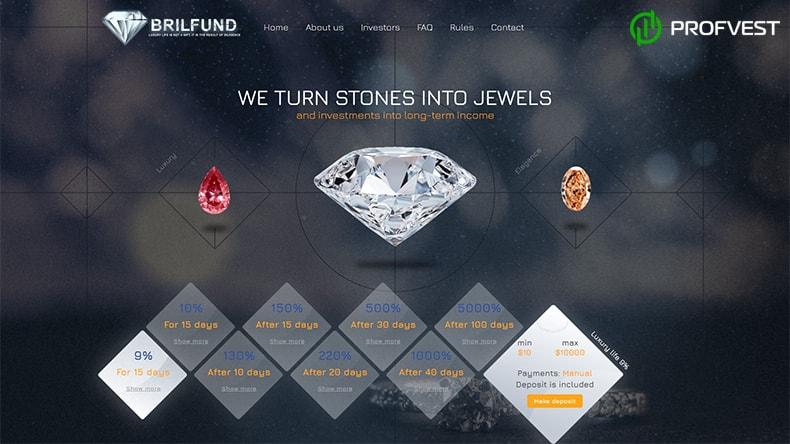 BrilFund обзор и отзывы HYIP-проекта