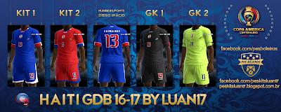 PES 2013 Haiti Copa America 2016 GDB by Luan17