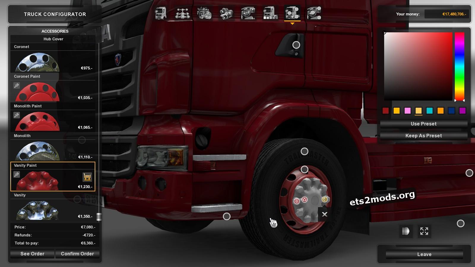 Wheels Mod - Turkis Job Frilly