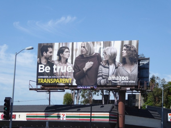 Transparent 3 Be True Emmy FYC billboard
