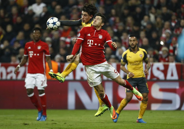 Sambangi Markas Arsenal, Ribery: Leg II Takkan Seperti Laga Friendly