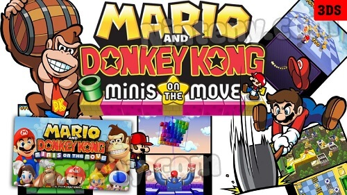Mario and Donkey Kong Minis on the Move 3DS Decrypted