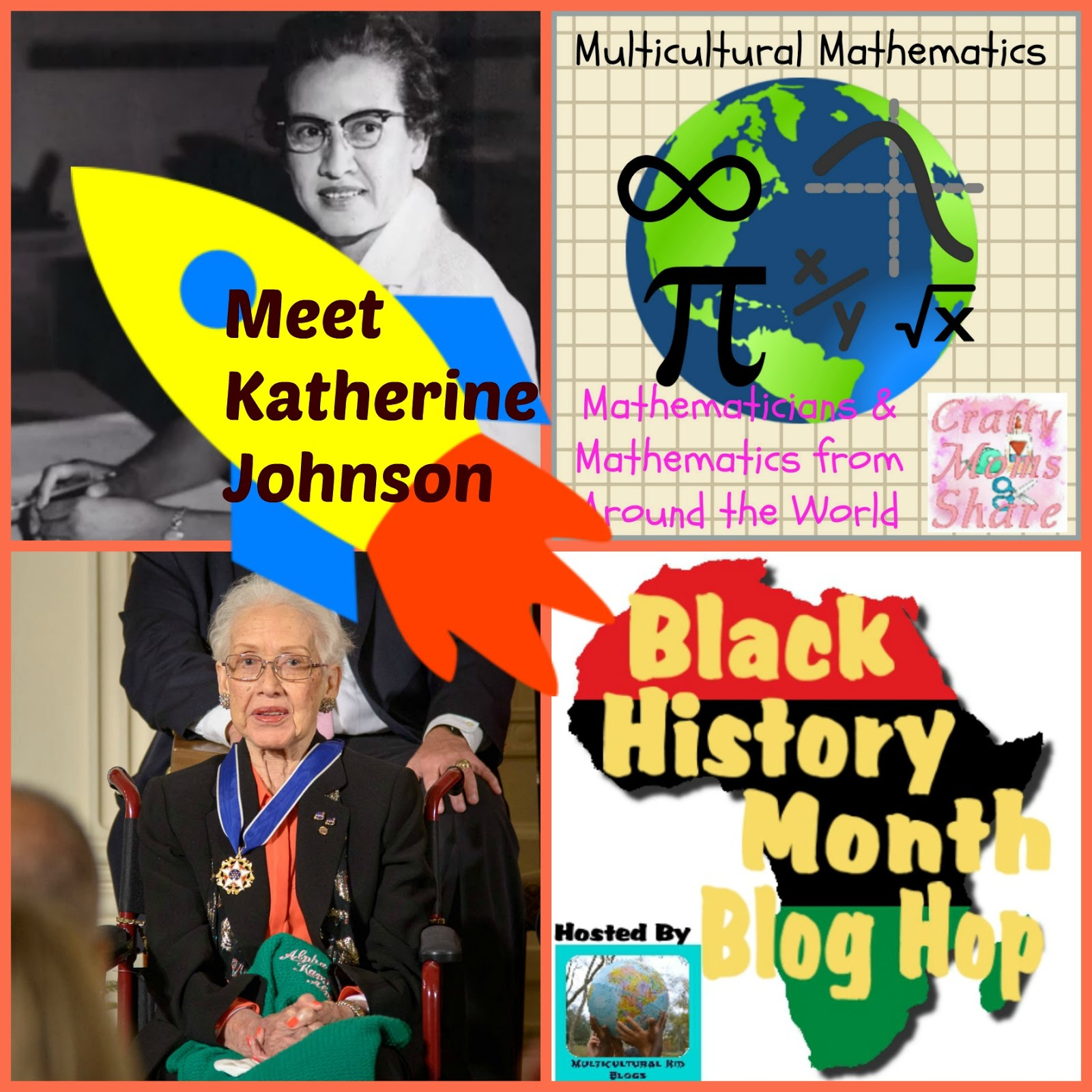 Crafty Moms Share Katherine Johnson Multicultural Math