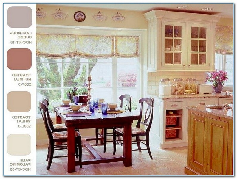 French Country Kitchen Color Palette Home Interior Exterior
