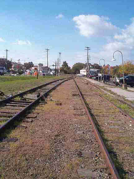 Abandoned Tracks at the Southampton Train Station in Upper Southampton